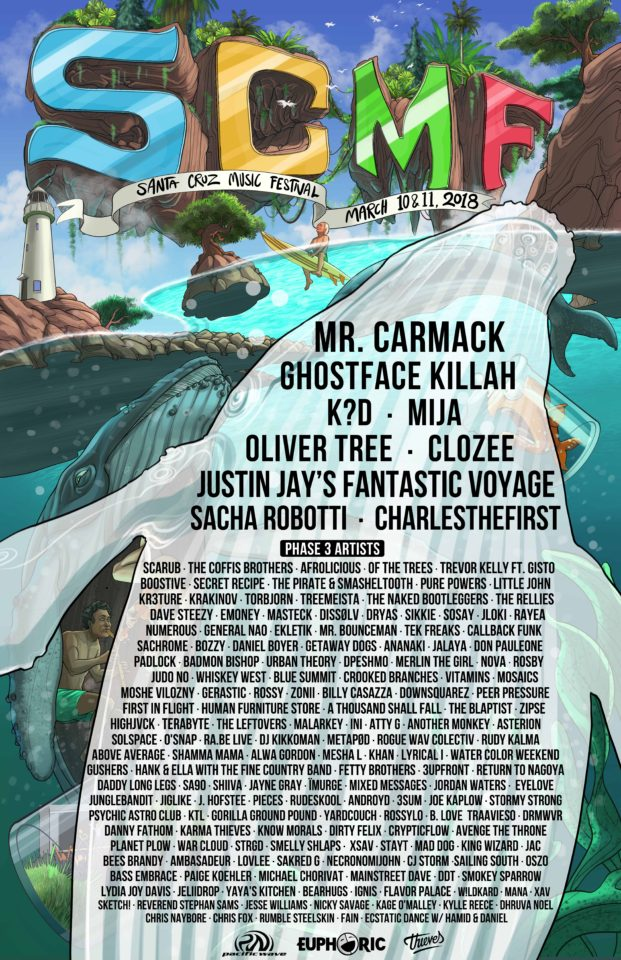 Santa Cruz Music Festival March 10th and 11th!